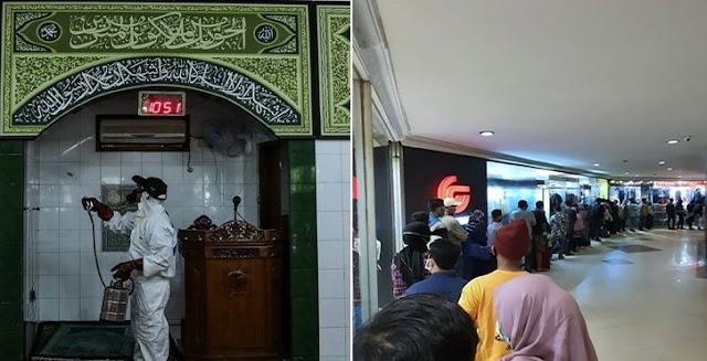 MUI Sampai Bingung, Pemerintah Tegas Larang Kumpul di Masjid Namun Belanja di Mall, Pasar dan Bandara Tak Dilarang