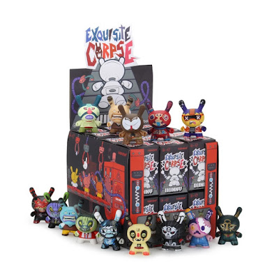 Exquisite Corpse Dunny Series by Red Mutuca Studios x Kidrobot