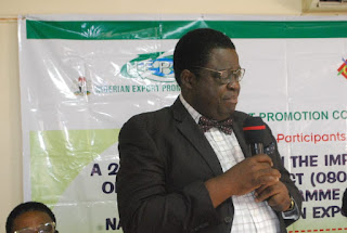 Nigeria Export Promotion Council (NEPC) organizes a workshop To Build Capacity For Stakeholders In Ogun