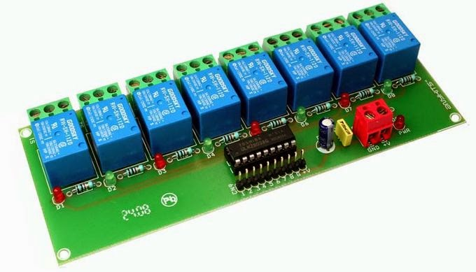 8 relay board