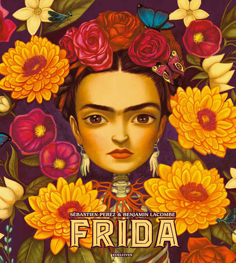 Benjamin Lacombe Portada del Libro Frida