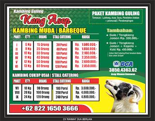 Harga Domba Guling November 2019 di Lembang