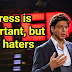 Stress is important, but for haters - Shah Rukh Khan upcoming action movie 2020