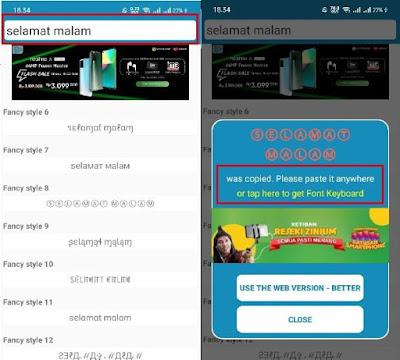 cara membuat status unik di facebook android xiaomiintro asalkata 01