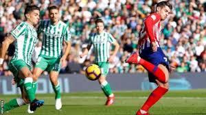 مباراة أتلتيكو مدريد وريال بيتيس جوال