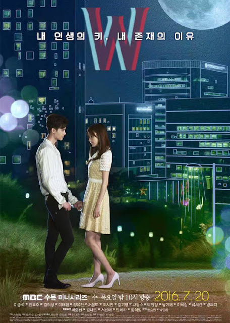 Sinopsis W-Two Worlds Korean Drama