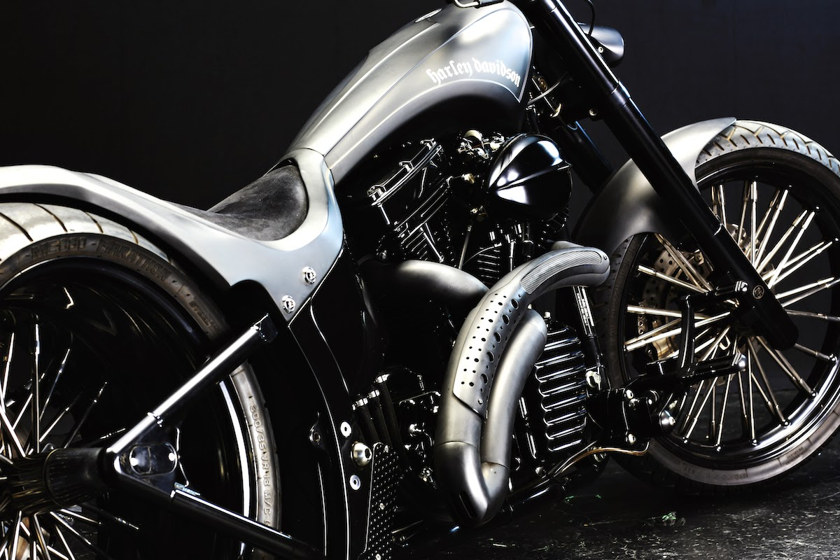 Harley Davidson 2003 FXSTB Custom U-TERA HD Wallpaper ...