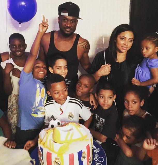 Photos from Peter Okoye's son, Cameron Okoye's birthday party
