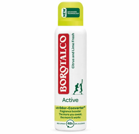 Deospray Borotalco Active Citrus and Lime, 150ml