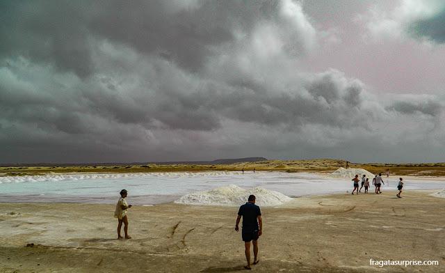 Salina na Ilha do Sal, Cabo Verde