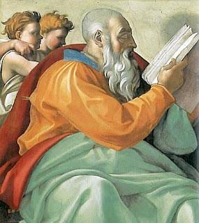 O Profeta Zacarias (Michelangelo)