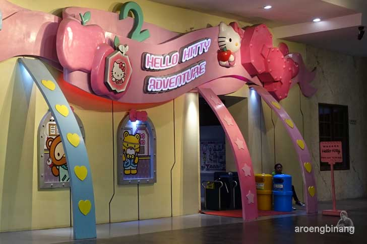 hello kitty adventure dufan ancol