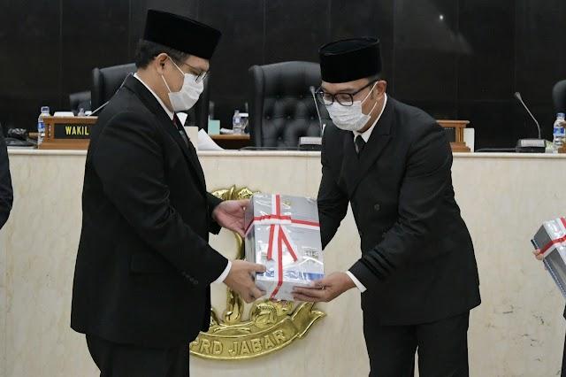 Pemerintah Provinsi Jabar Raih WTP KEsepuluh Secara Beruntun Dari BPK RI
