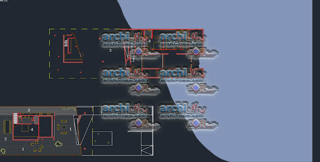 Download AutoCAD CAD dwg viewer online file casa house Denis Ortmans