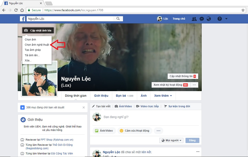 Hướng dẫn tạo video cover cho Facebook cá nhân, rất đơn giản và dễ thực hiện