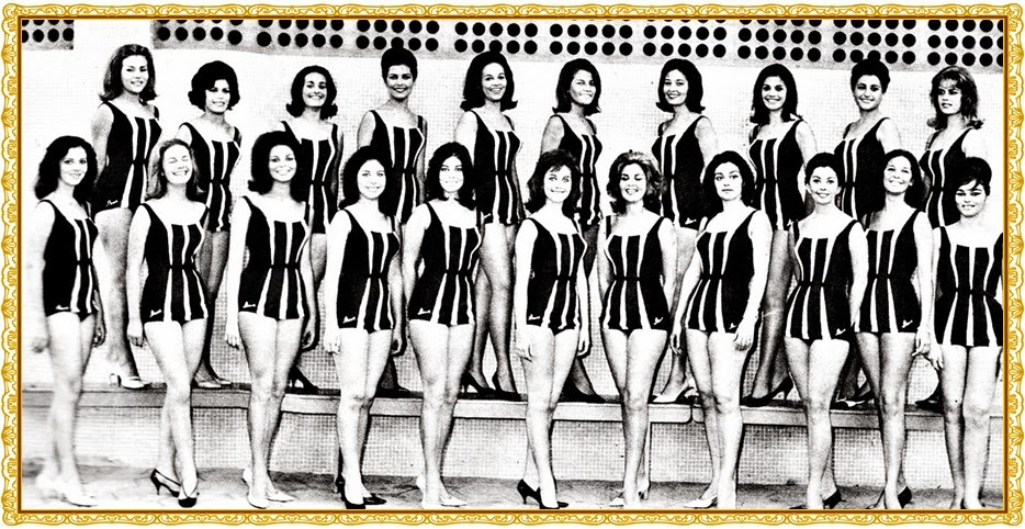 MISSES UNIVERSO ESTADUAIS 1963