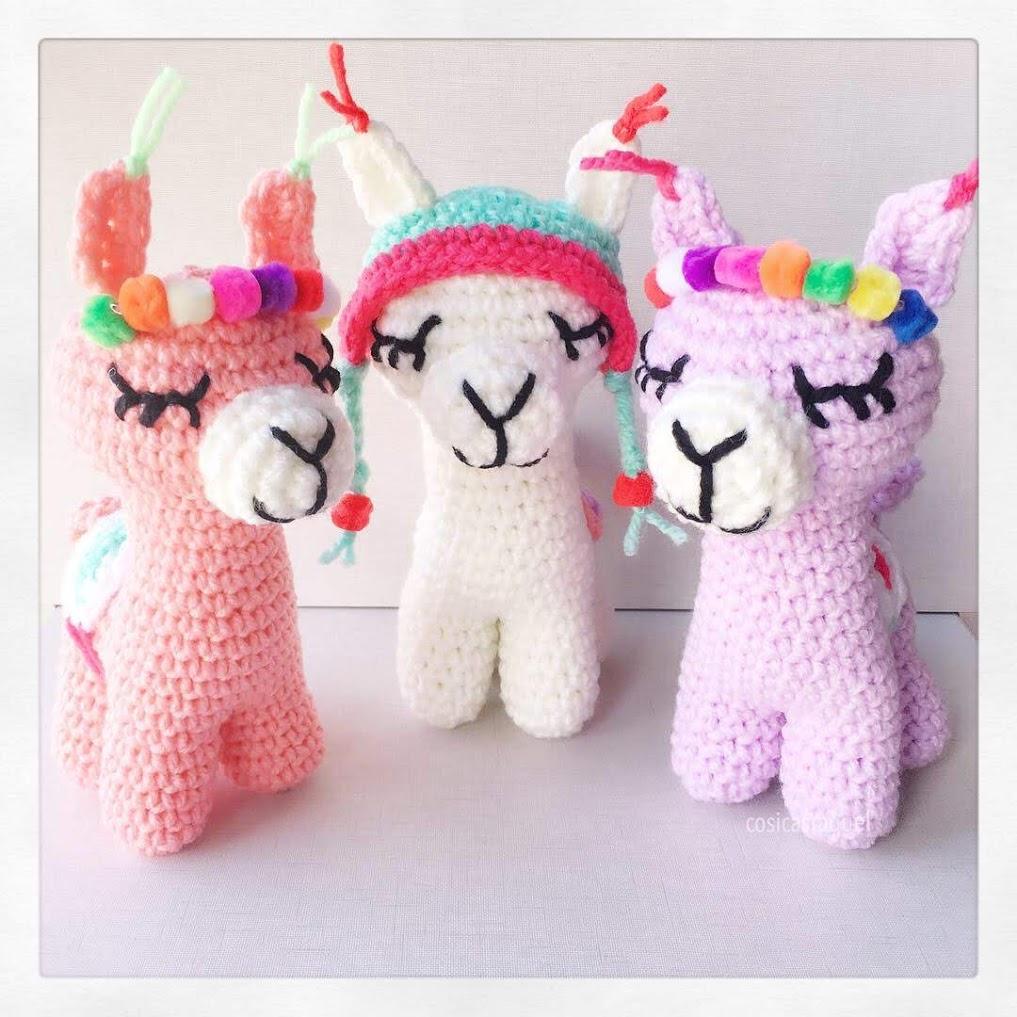 Amigurumi Llama Free Pattern – Amigurumi Free Patterns And Tutorials | 1017x1017