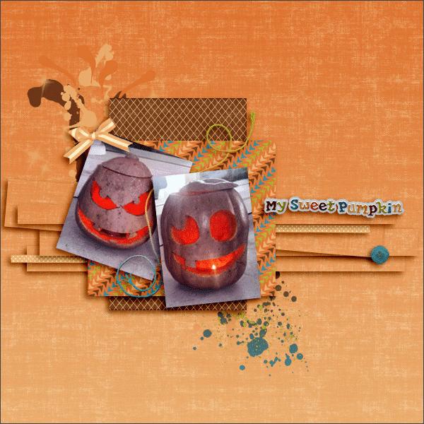 my sweet pumpkin © sylvia • sro 2015 • designs by romajo • glory of (not so) scray