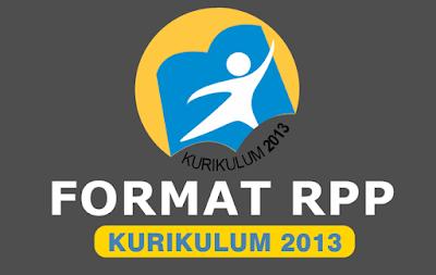 format rpp k13 revisi 2018