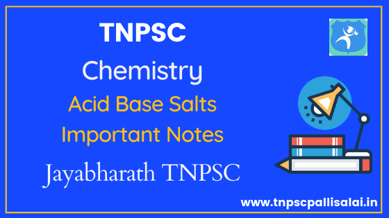 Acid Base Salts full study material