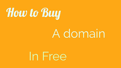 How To Buy A Domain Name In Free 2020