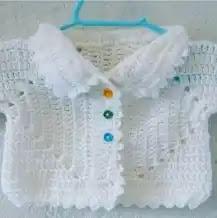 Chaleco Bebé Crochet