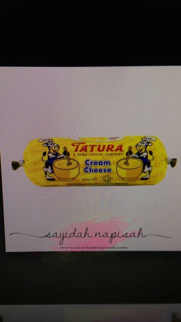 cream cheese tatura