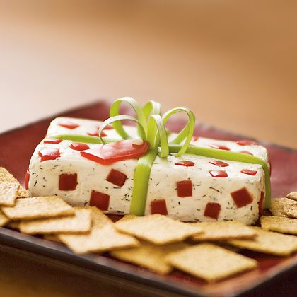 Christmas Package Cheese Snack