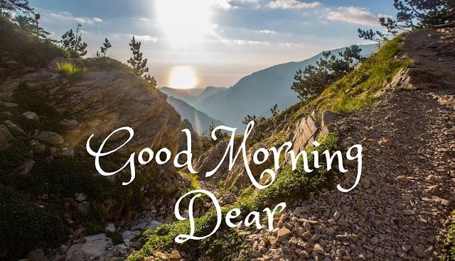 Good Morning Dear Sunrise in Sky HD Images