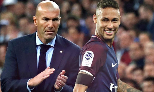 Transfer: What Zidane said about Real Madrid getting Neymar before September 2 deadline