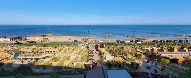Adventure Golf courses at Shanklin Seafront