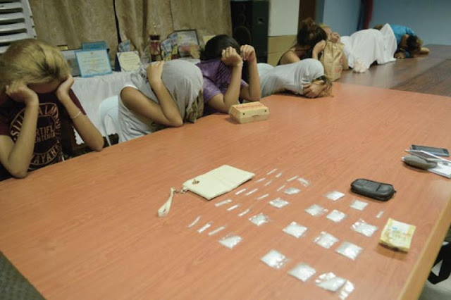 Minors dealing drugs rescued