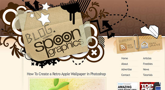 Spoon Graphics website