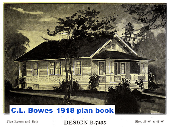 catalog image of Sears Winona lookalike plan book model by C. L. Bowes