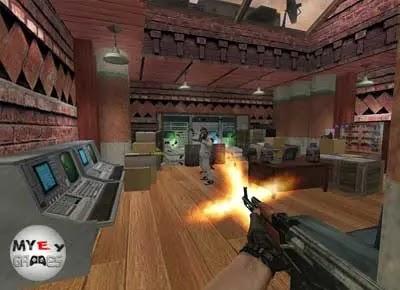شرح حول لعبة كاونتر سترايك للكمبيوتر من ميديا فاير