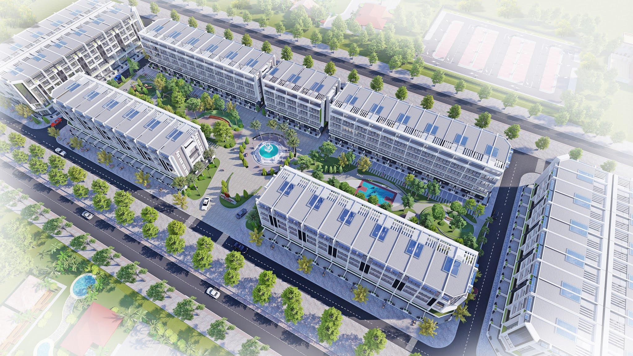 shophouse Bình Minh Garden Long Biên
