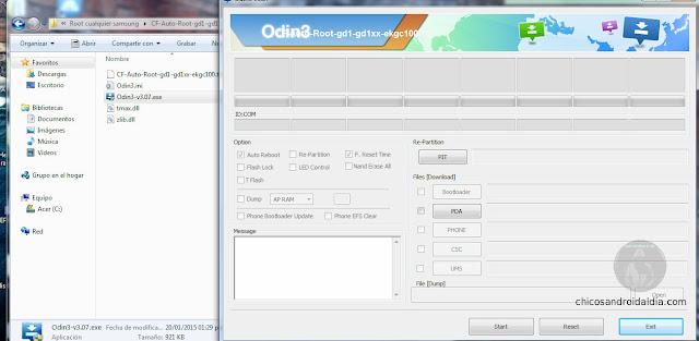Rootear Samsung Odin