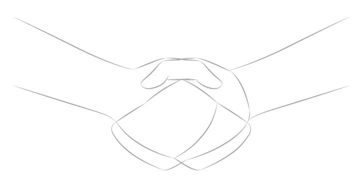 Gambar konstruksi jabat tangan