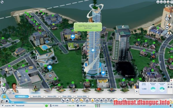 Download Game SimCity Deluxe Edition with Cites of Tomorrow 2014 Full Crack, game xây dựng thành phố pc, game SimCity, game SimCity free download, game SimCity full crack