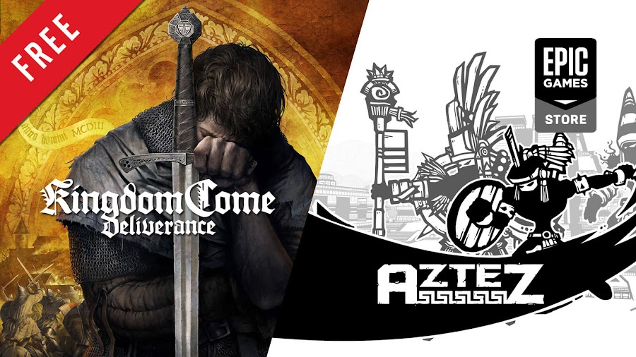 kingdom come deliverance aztez free pc game epic games store open world action rpg indie turn-based strategy game warhorse studios deep silver team color blind