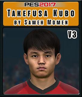 PES 2017 Faces Takefusa Kubo by Sameh Momen