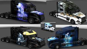 Skin pack for Volvo 780 truck