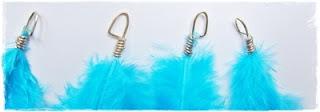 Diy tutorial / Feather earrings / kolczyki z piórkami