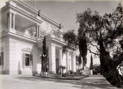 To Αχίλλειον στην Κέρκυρα το 1890