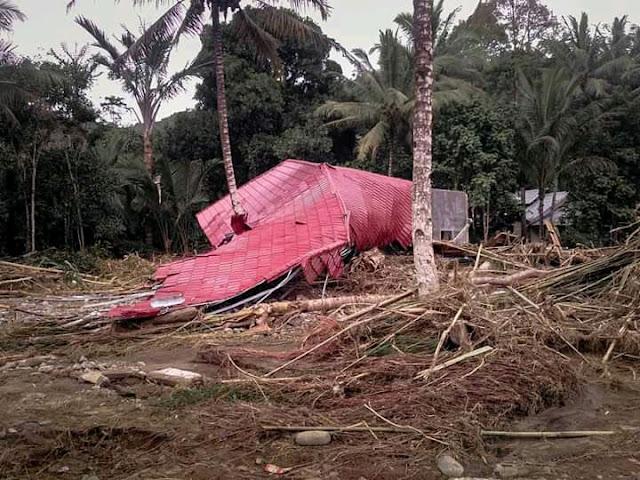 rumah hancur akibat banjir kalimantan selatan