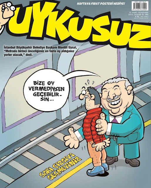 uykusuz 22 march 2018 cover