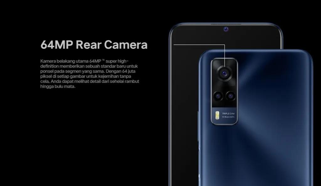 Vivo Y53s Camera