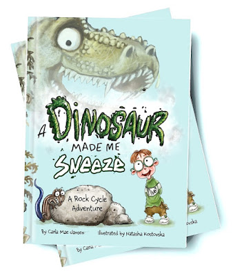 A Dinosaur Made Me Sneeze Book