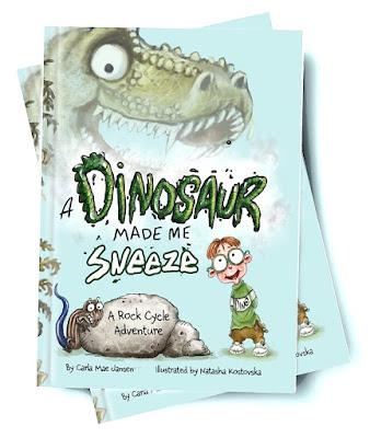 A Dinosaur Made Me Sneeze Book