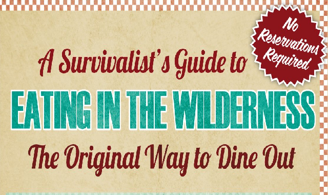 A Survivalist's Guide to Eating in the Wilderness #infographic